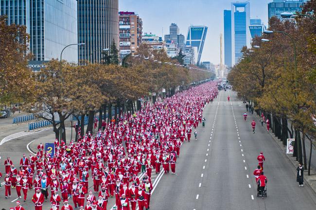 ¡Ultimas 24 horas para apuntarte a la Carrera de Papá Noel El Corte Inglés en Madrid y Toledo!