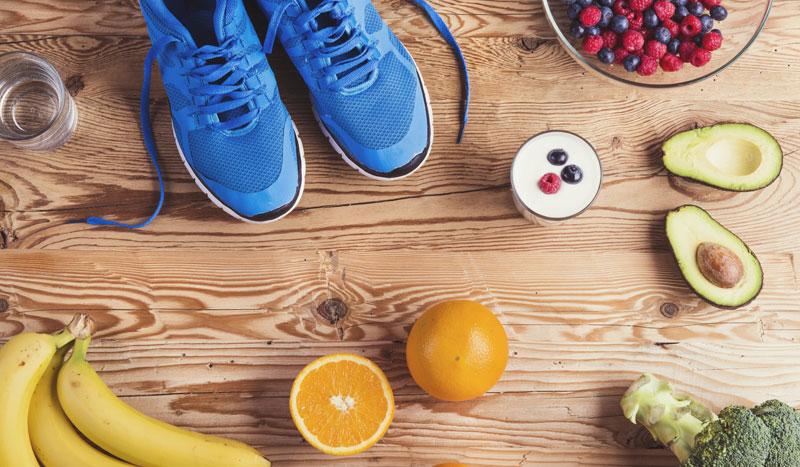 Las claves para comer saludablemente si eres deportista