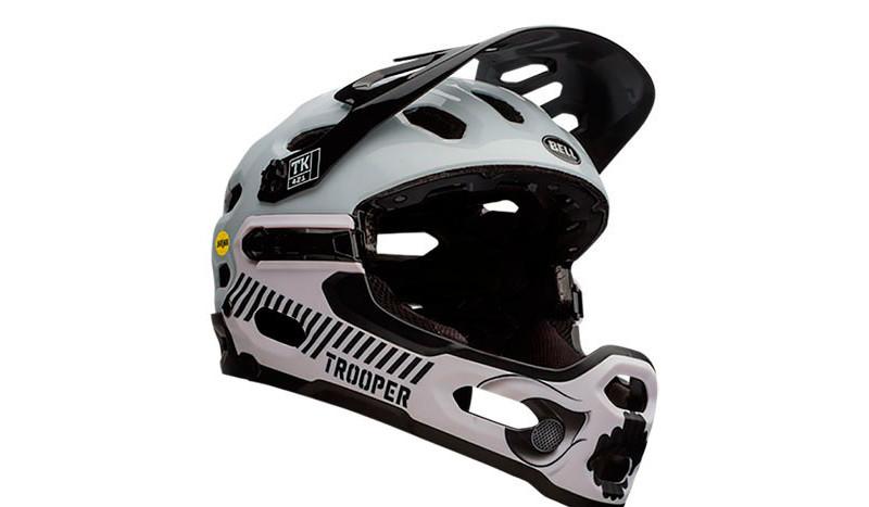 El casco de bici de la Guerra de las Galaxias