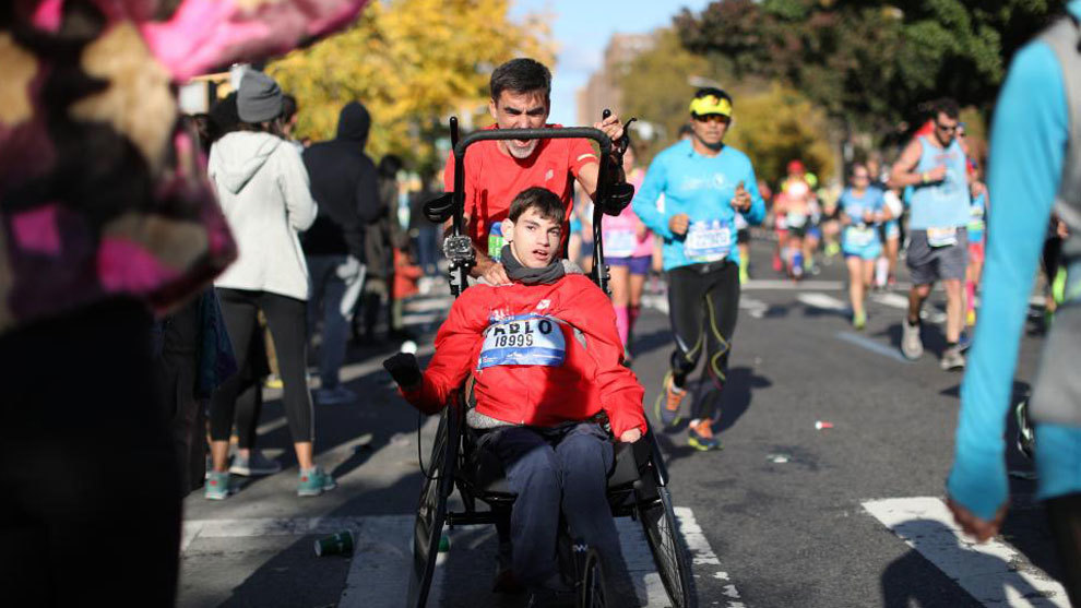 José Manuel y Pablo: el maratón de la gran sonrisa
