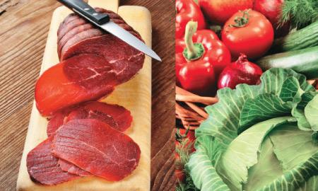 Vegetarianos, veganos y crudívoros. ¿Dónde están las diferencias?
