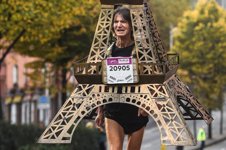 Los 10 disfraces más locos para correr un maratón