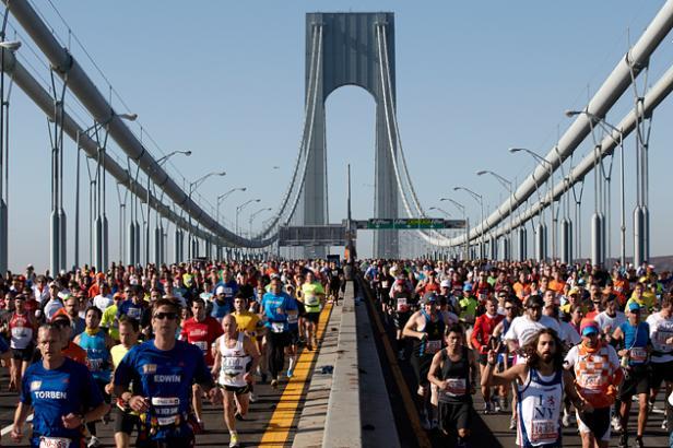 Viaje al maratón de Nueva York 2017