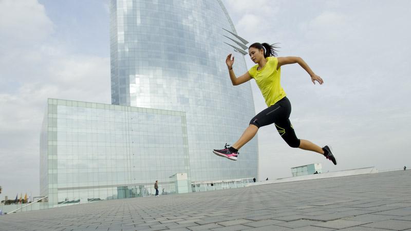 Estiramientos con yoga para después de correr