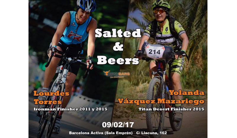 ¡No te pierdas la charla deportiva Salted&Beers!