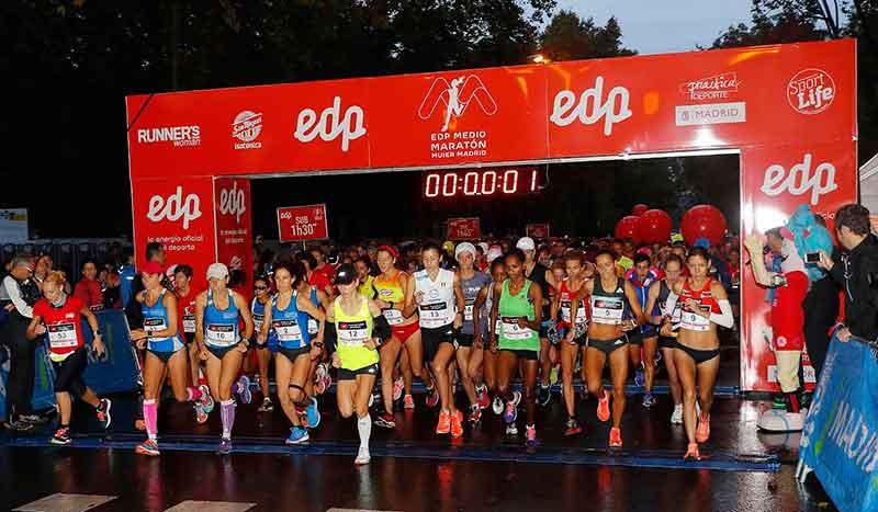 ¡Inscríbete por 12 € al EDP Medio Maratón de la Mujer! Oferta especial solo hoy