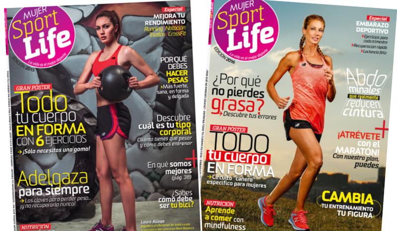 Buscamos a la nueva portada de Sport Life Mujer 2017