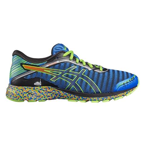 Así son las zapatillas asics edicón limitada Zurich Maratón de Barcelona