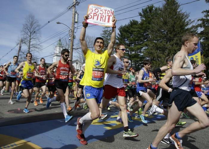 ¡Puedes estar en el maratón de Boston este año!