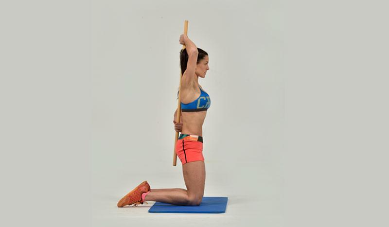 El ejercicio que te enseña a alinear tu columna