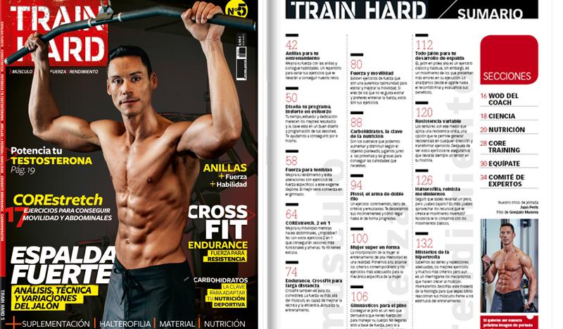 ¡El nº 5 de Train Hard ya está aquí!