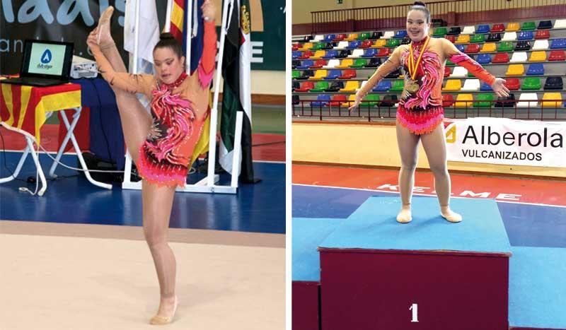 Sara Marín, una gimnasta extraordinaria