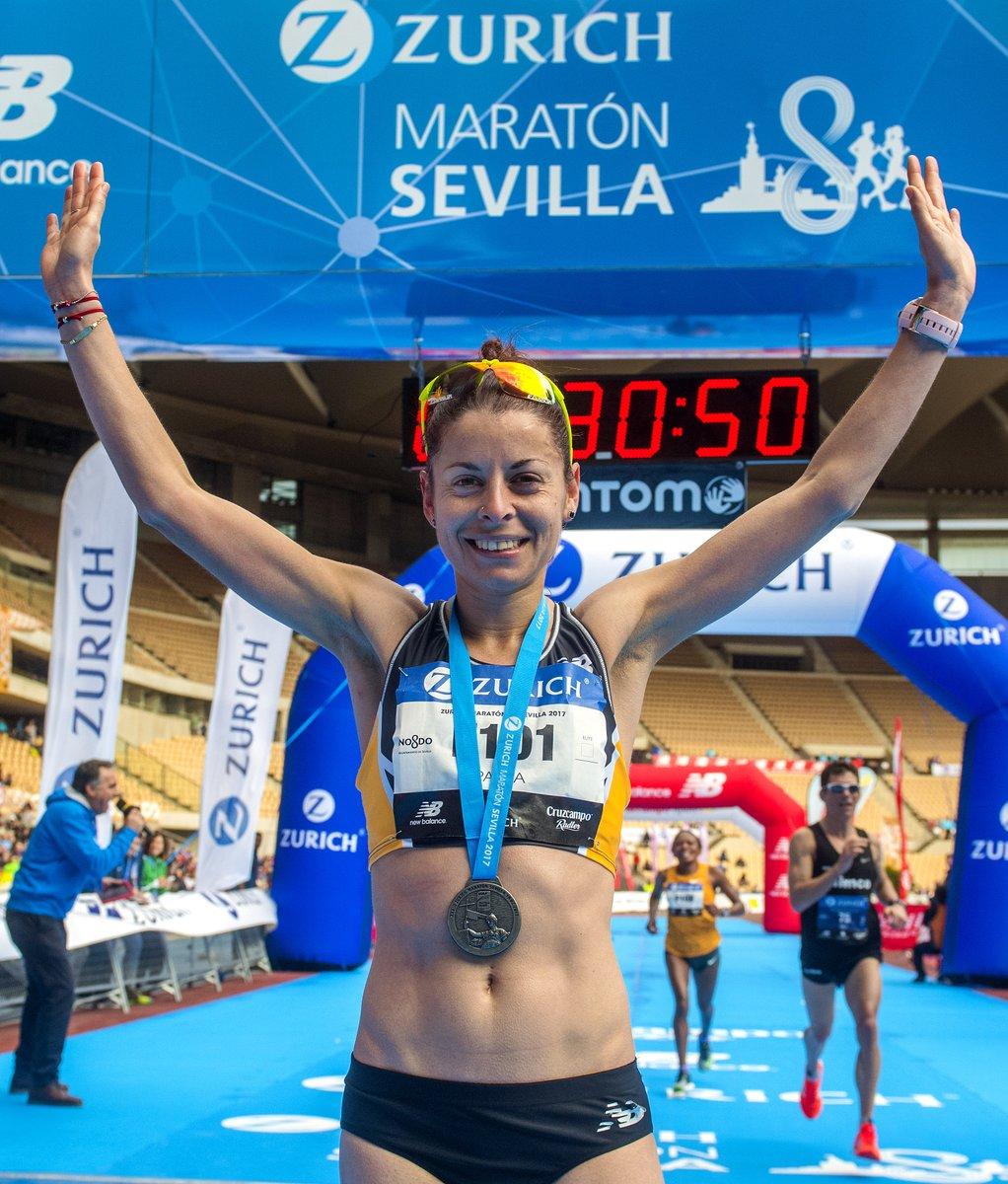 Paula González gana el Zurich Maratón de Sevilla con 2h 28', el día que se batió el récord masculino con 2h 07