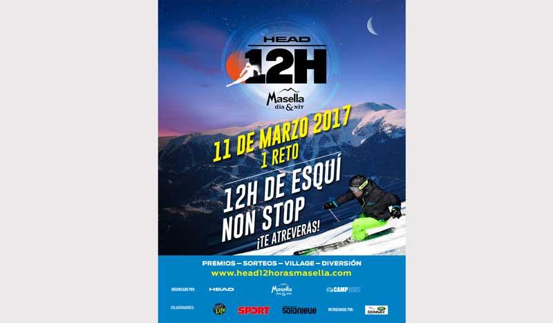 La carrera de resistencia de esquí alpino