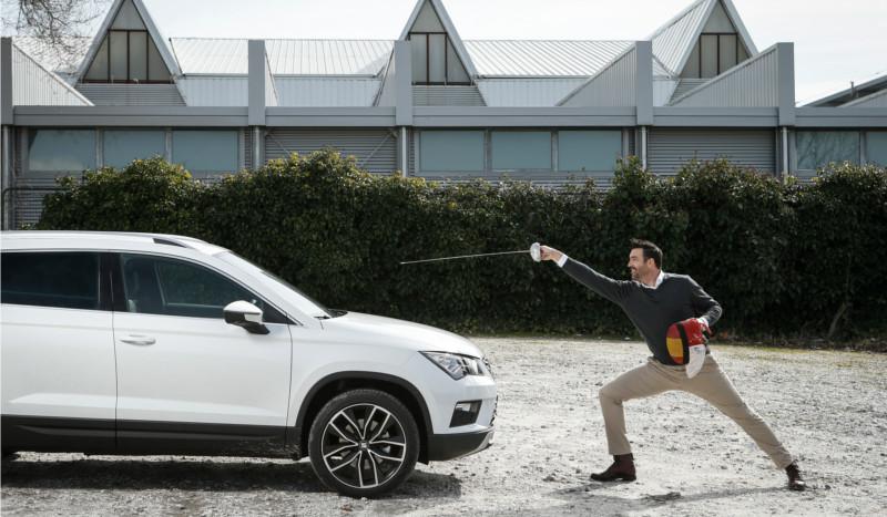 SEAT Ateca, el SUV que guía la rutina de José Luis Abajo Pirri
