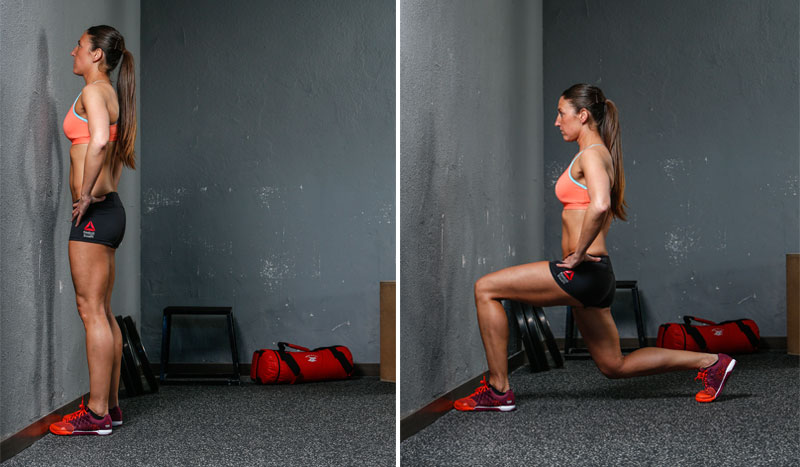 Un ejercicio para trabajar toda la pierna: la zancada
