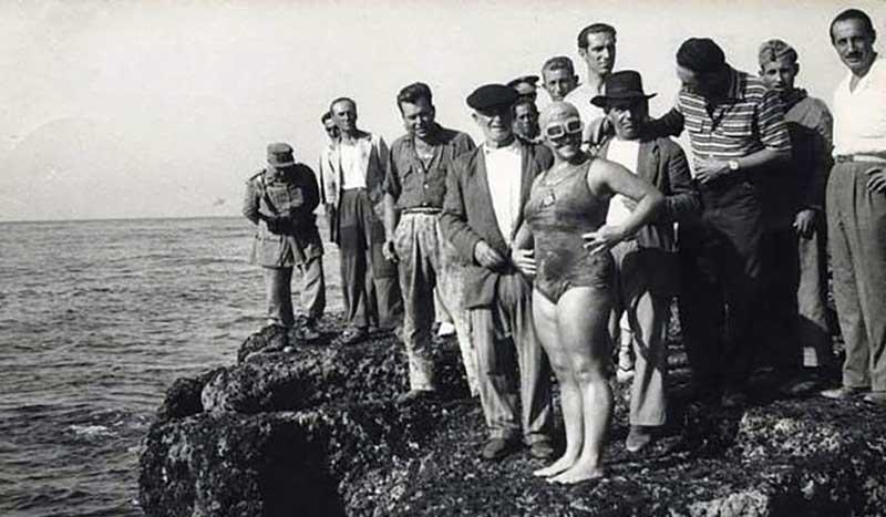 La gran dama nadadora del Canal de la Mancha