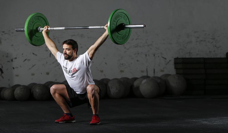Entrena el snatch: los ejercicios para lograrlo