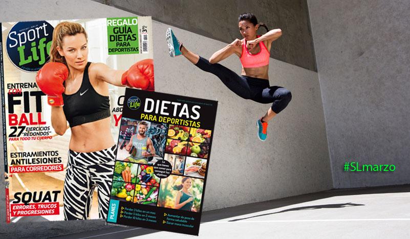 La guía de dietas para deportistas con el Sport Life de marzo