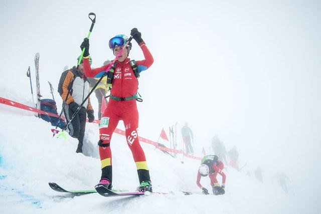 Cluadia Galicia, campeona del mundo de esquí de montaña