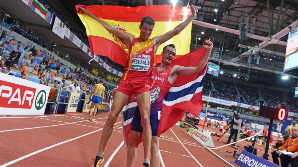 Mechaal, único oro para España en el Europeo de atletismo