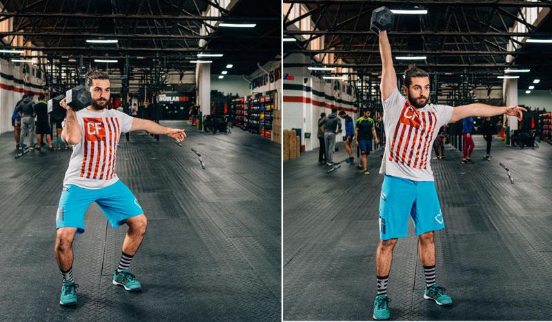 Press de hombros: el ejercicio para una fuerza aplicada intensa