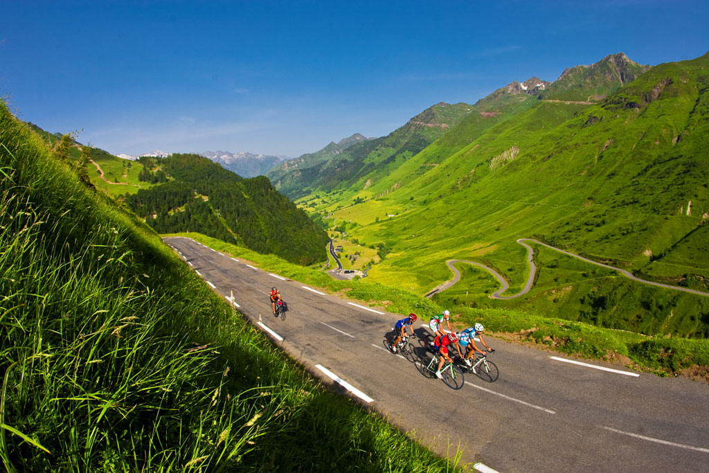 La gran marcha cicloturista de los Pirineos