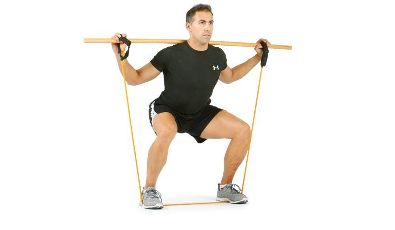 La sentadilla, el ejercicio para cuidar tu espalda