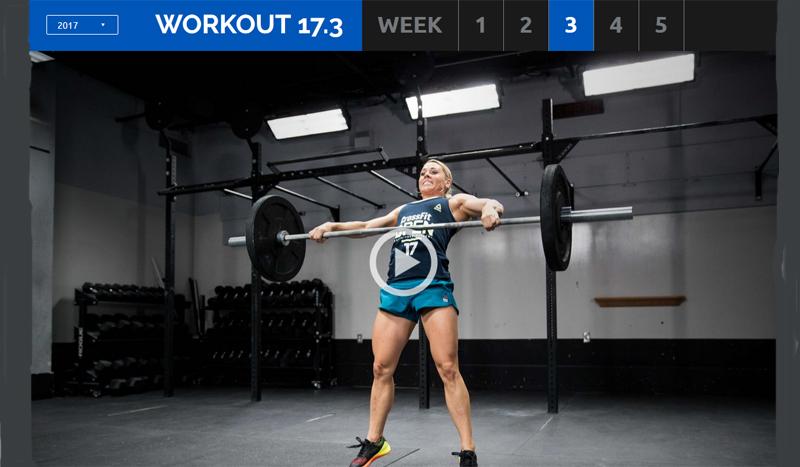 CrossFit: El duro WOD 17.3 de los Open, ¿te atreves con él?