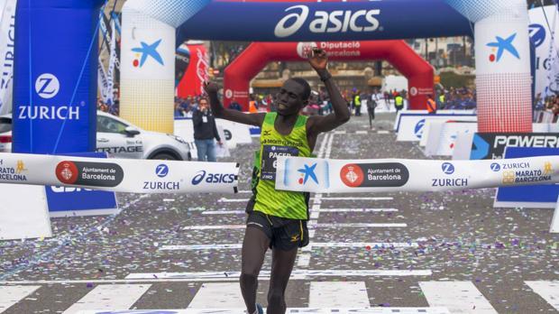 Un corredor paralímpico gana el Zurich Maratón de Barcelona