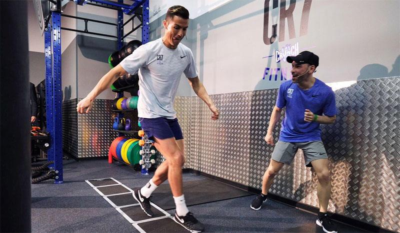 """Cristiano Ronaldo: """"Utilizo el gimnasio para recuperar, fortalecer, hacer ejercicios de propiocepción o tonificar """""""