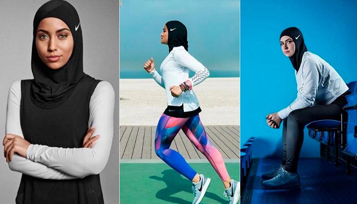 Nike crea el primer hiyab para hacer deporte