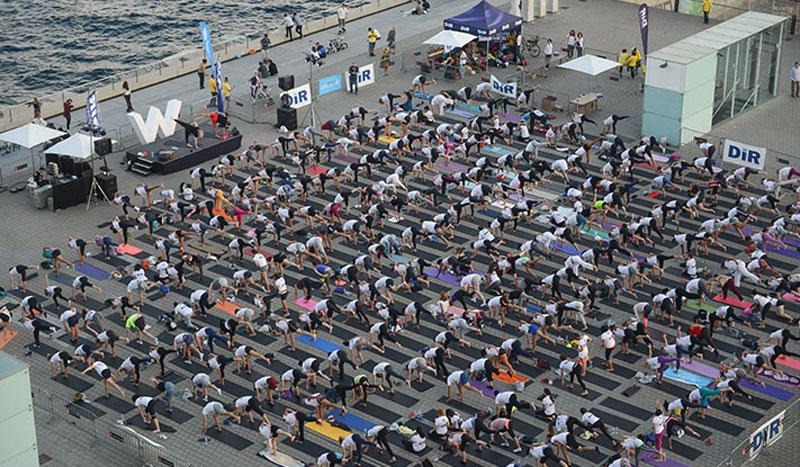 5 días y hasta 94 clases de yoga en el Global Yoga Congress
