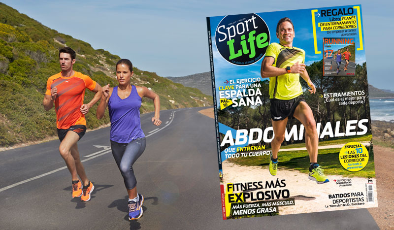 ¡Así es el nuevo Sport Life de abril! Sumario Sport Life 216