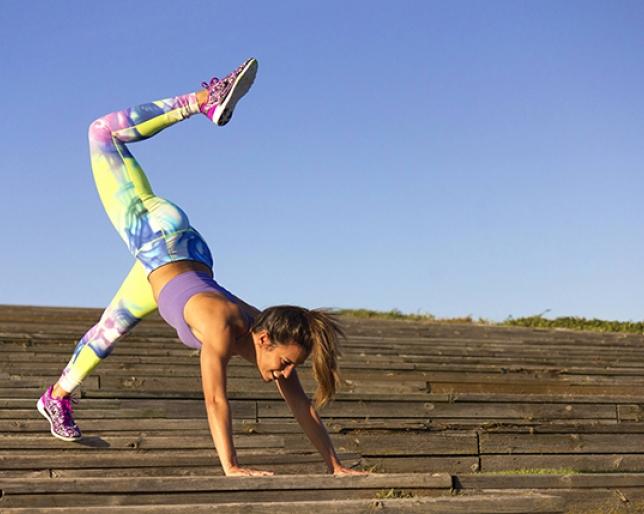 Fitness con Paula Butragueño en el Sport Challenge by Rafa Nadal
