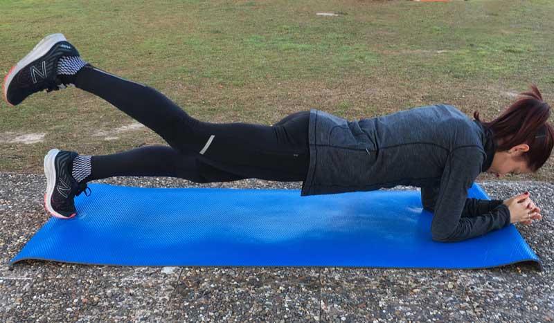 Tonifica tu core para correr más rápido