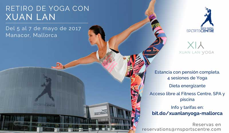 Yoga en Mallorca con Xuan-Lan