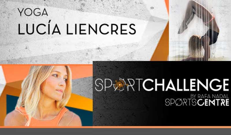 Sport Challenge Yoga con Lucía Liencres