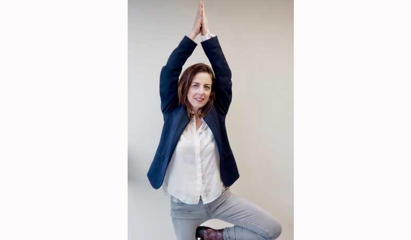 """Yo hago yoga con Natalia Gómez: """"El yoga es ese momento que todo el mundo debería regalarse para sentir y ejercitar su cuerpo"""""""