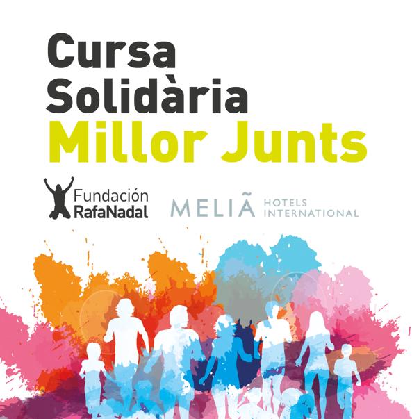 Primera carrera solidaria del Centro Fundación Rafa Nadal