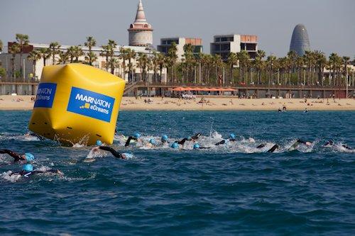 Marnatón, el maratón de los nadadores