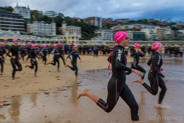 Triatlón de la Mujer de San Sebastián
