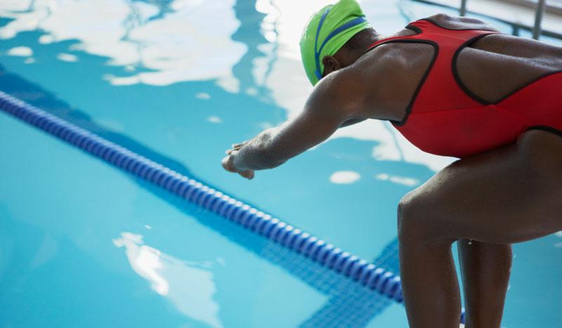 El calentamiento perfecto para nadadores