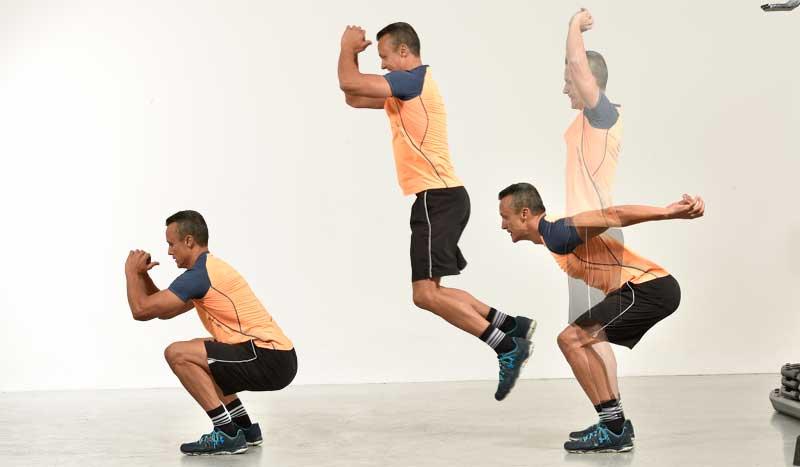 Objetivo más músculo y rendimiento: ¡fitness explosivo!
