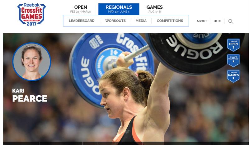 Kari Pearce, te presentamos a la segunda clasificada en los Open de CrossFit 2017