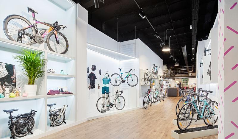 La primera tienda de bicis solo para mujeres