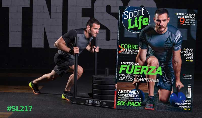 Porque mayo es el mes de la fuerza... Así es el nuevo Sport Life 217