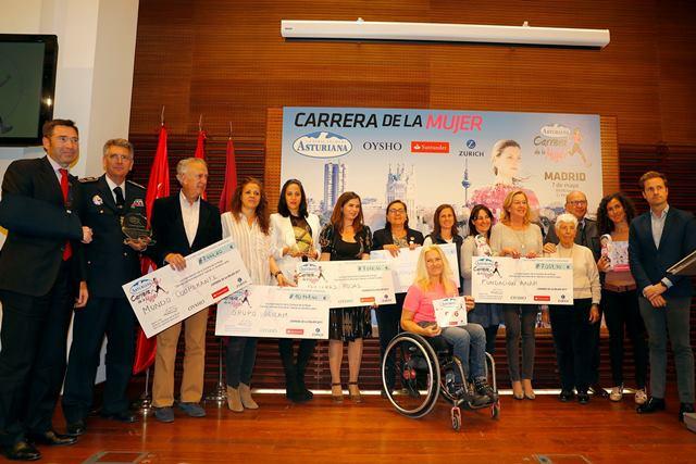 Presentada la Carrera de la Mujer de Madrid