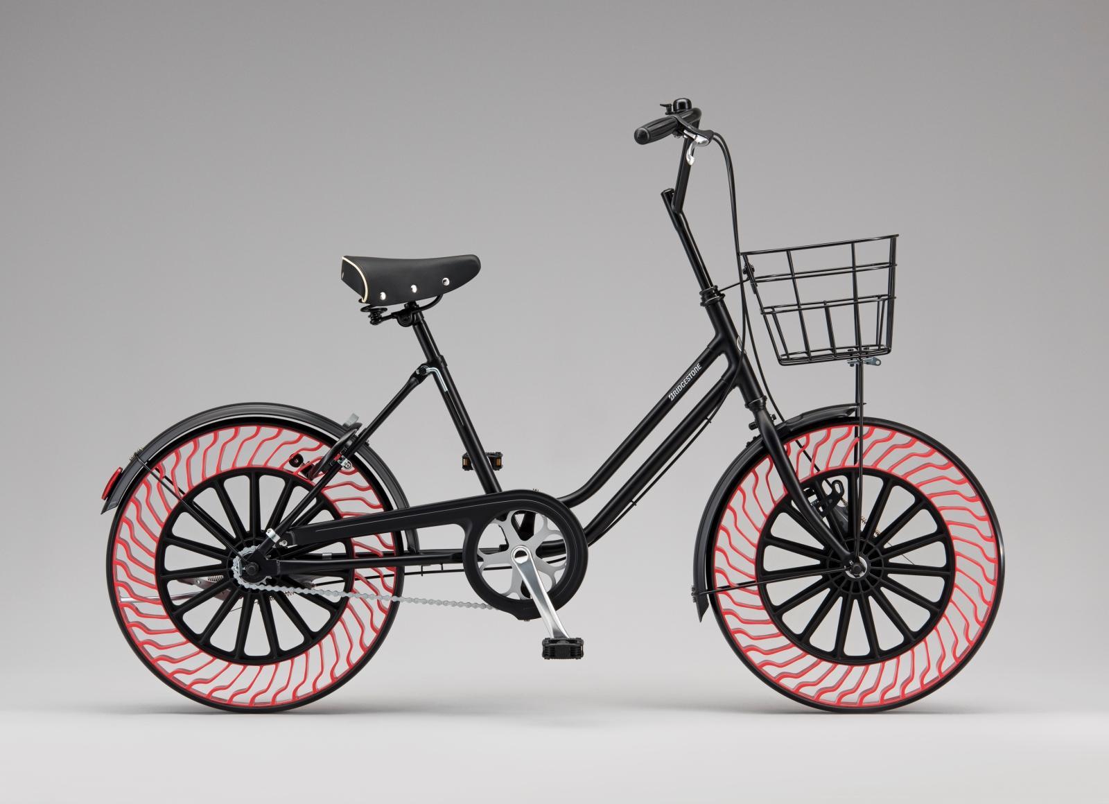 Los neumáticos de bici que no requiere ser hinchados con aire