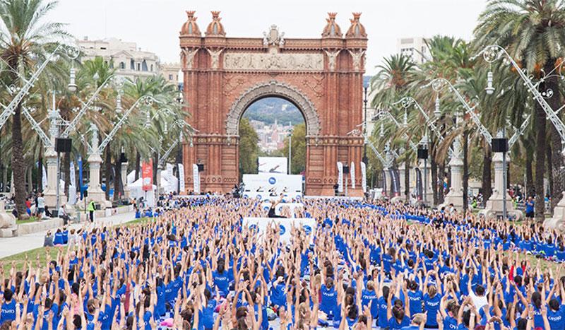 Free Yoga by Oysho arranca en Barcelona